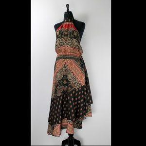 Free People Gypsy Halter Dress, L